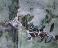 Gabriele-Schmalfeldt-Natur-Diverse-Pflanzen-Blumen-Moderne-Abstrakte-Kunst