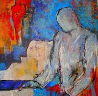 Gabriele-Schmalfeldt-Abstraktes-Menschen-Mann-Moderne-Expressionismus-Abstrakter-Expressionismus