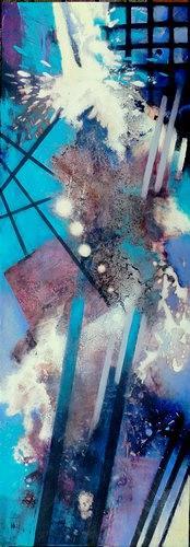 Gabriele Schmalfeldt, o.T., Diverse Zirkus, Abstraktes, Abstrakte Kunst
