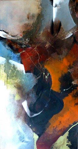 Gabriele Schmalfeldt, o.T., Natur, Abstraktes, Abstrakte Kunst