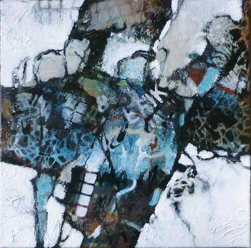 Gabriele Schmalfeldt, o.T., Abstraktes, Symbol, Gegenwartskunst