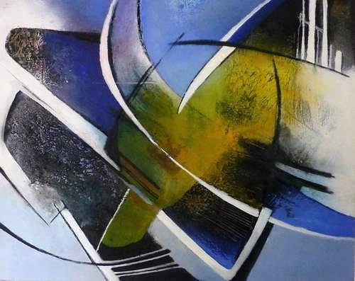 Gabriele Schmalfeldt, o.T., Abstraktes, Bewegung, Moderne, Expressionismus
