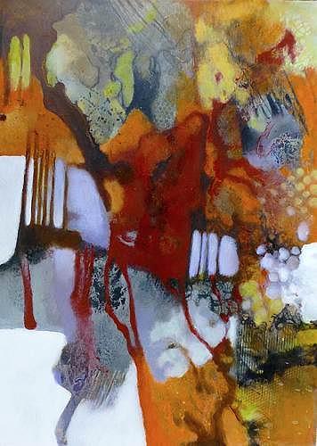 Gabriele Schmalfeldt, Weinlese, Natur: Diverse, Ernte, Gegenwartskunst, Abstrakter Expressionismus