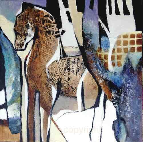 Gabriele Schmalfeldt, o.T., Abstraktes, Diverse Tiere, Gegenwartskunst, Expressionismus