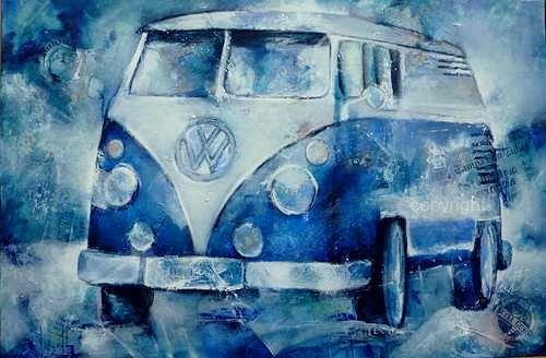 Gabriele Schmalfeldt, o.T., Verkehr: Bus, Gefühle: Freude, Gegenwartskunst