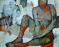Gabriele-Schmalfeldt-Diverse-Menschen-Abstraktes-Gegenwartskunst-Gegenwartskunst