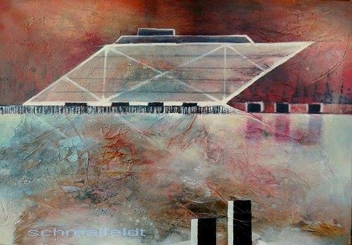 Gabriele Schmalfeldt, Dockland, Architektur, Diverse Bauten, Gegenwartskunst