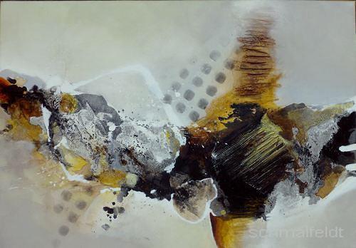 Gabriele Schmalfeldt, o.T., Abstraktes, Poesie, Gegenwartskunst, Abstrakter Expressionismus