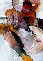 Gabriele-Schmalfeldt-Menschen-Paare-Gesellschaft-Moderne-Expressionismus-Abstrakter-Expressionismus