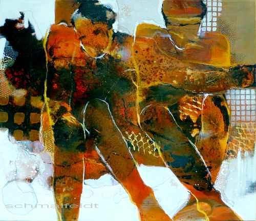 Gabriele Schmalfeldt, o.T., Menschen: Paare, Diverse Gefühle, Gegenwartskunst, Expressionismus