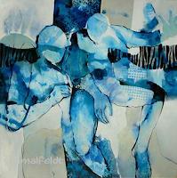 Gabriele-Schmalfeldt-Situationen-Diverse-Menschen-Moderne-Abstrakte-Kunst