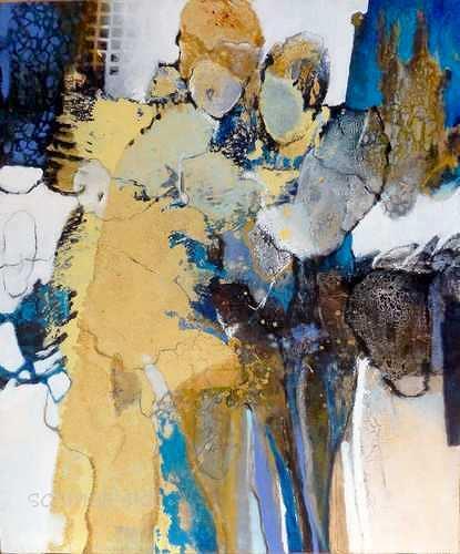 Gabriele Schmalfeldt, innig, Menschen: Paare, Gefühle: Liebe, Gegenwartskunst, Expressionismus