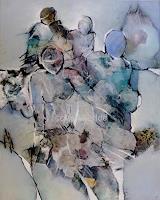 Gabriele-Schmalfeldt-Menschen-Gruppe-Abstraktes-Moderne-Abstrakte-Kunst