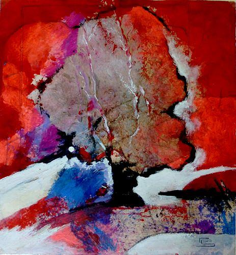 Gabriele Schmalfeldt, o.T. 16/19, Natur, Landschaft, Abstrakte Kunst, Abstrakter Expressionismus