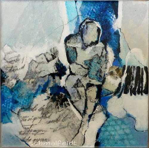 Gabriele Schmalfeldt, o.T. 20/19, Menschen, Gefühle, Abstrakte Kunst