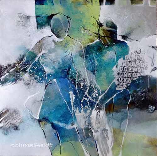 Gabriele Schmalfeldt, Abseits des Üblichen, Menschen: Paare, Abstraktes, Abstrakte Kunst