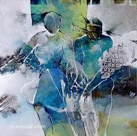Gabriele-Schmalfeldt-Menschen-Paare-Abstraktes-Moderne-Abstrakte-Kunst