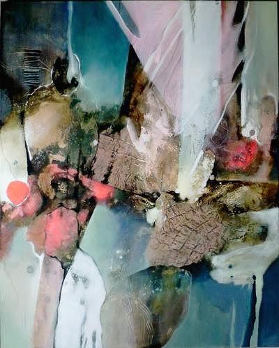 Gabriele Schmalfeldt, o.T. 03/20, Abstraktes, Situationen, Gegenwartskunst, Abstrakter Expressionismus