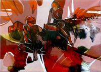 Gabriele-Schmalfeldt-Abstraktes-Diverse-Gefuehle-Moderne-Abstrakte-Kunst