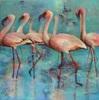 Gabriele Schmalfeldt, o.T. 18/20, Tiere: Wasser, Landschaft: See/Meer, Gegenwartskunst, Expressionismus