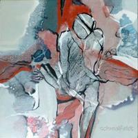 Gabriele-Schmalfeldt-Diverse-Menschen-Gefuehle-Moderne-Abstrakte-Kunst