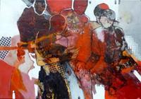 Gabriele-Schmalfeldt-Menschen-Gruppe-Gesellschaft-Moderne-Abstrakte-Kunst