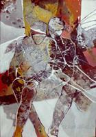 Gabriele-Schmalfeldt-Menschen-Paare-Gefuehle-Geborgenheit-Moderne-Abstrakte-Kunst