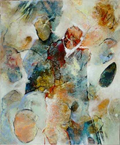 Gabriele Schmalfeldt, o.T. 43/20, Abstraktes, Menschen: Paare, Gegenwartskunst