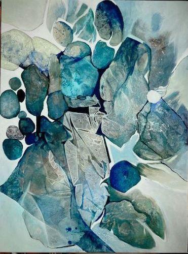 Gabriele Schmalfeldt, o.T. 02/21, Abstraktes, Diverse Menschen, Abstrakte Kunst