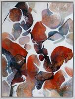 Gabriele-Schmalfeldt-Abstraktes-Diverse-Pflanzen-Moderne-Abstrakte-Kunst