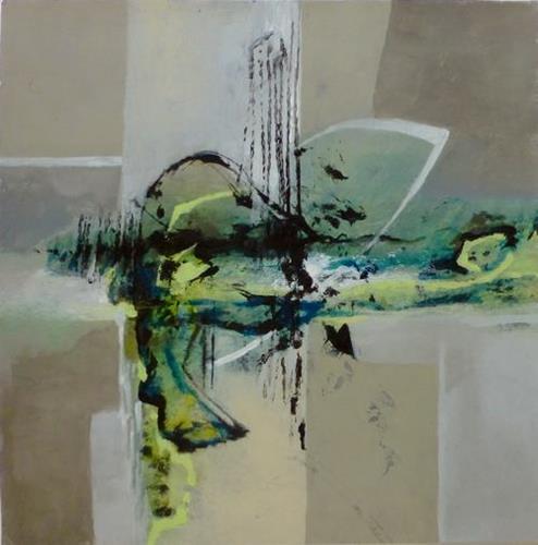 Gabriele Schmalfeldt, o.T. 08/21, Abstraktes, Dekoratives, Gegenwartskunst