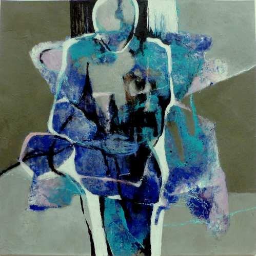 Gabriele Schmalfeldt, o.T. 14/21, Diverse Menschen, Abstraktes, Abstrakter Expressionismus, Expressionismus