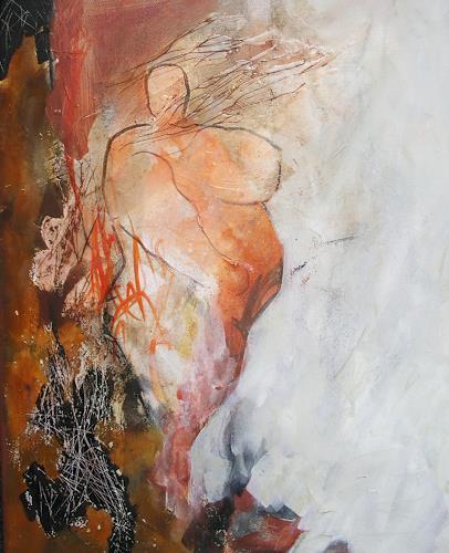 Andrea Huber, Venus von Blaubeuren, Menschen: Frau, Mythologie, Neo-Expressionismus, Gegenwartskunst