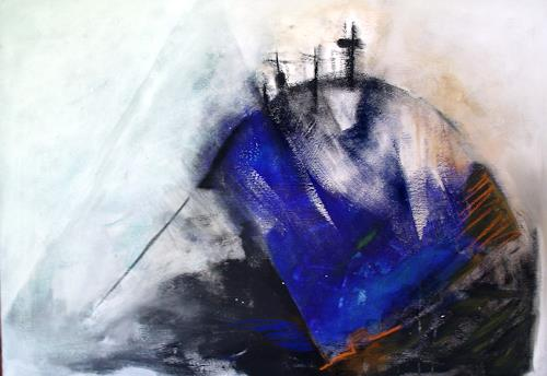 Andrea Huber, Golgatha, Glauben, Religion, Neo-Expressionismus