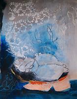 Andrea-Huber-Mythologie-Menschen-Frau-Gegenwartskunst-Neo-Expressionismus