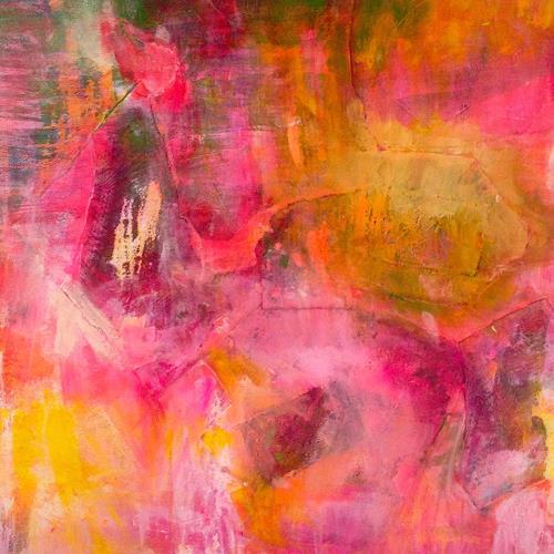 Anita Karolina Martinoli, Recycled picture, Diverses, Gegenwartskunst, Abstrakter Expressionismus