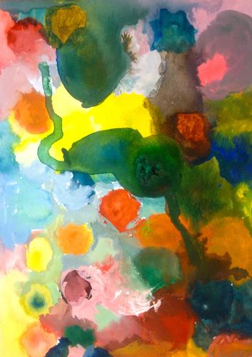 Anita Karolina Martinoli, ohne Titel, Abstraktes, Gegenwartskunst
