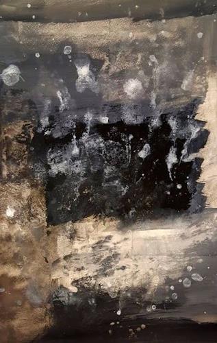 Anita Karolina Martinoli, The threat, Abstraktes, Abstrakte Kunst, Abstrakter Expressionismus