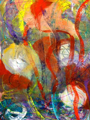 Anita Karolina Martinoli, ohne Titel, Abstraktes, Gegenwartskunst, Abstrakter Expressionismus
