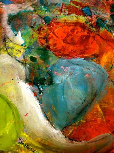 Anita Karolina Martinoli, unlimited, Abstraktes, Abstrakte Kunst, Abstrakter Expressionismus