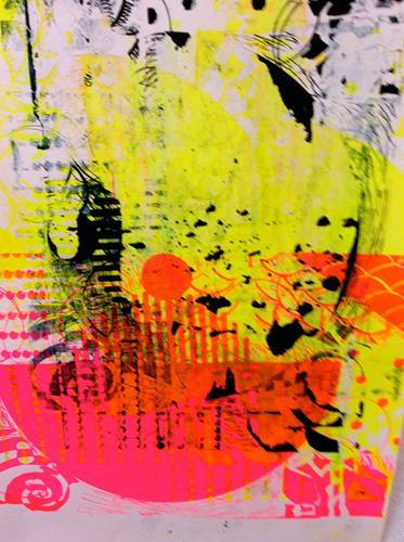 Anita Karolina Martinoli, Corona Experiment 2, Abstraktes, Abstrakte Kunst, Expressionismus