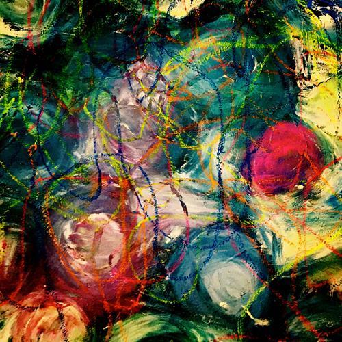 Anita Karolina Martinoli, ohne Titel, Abstraktes, Abstrakte Kunst, Abstrakter Expressionismus