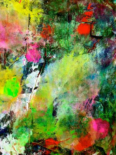 Anita Karolina Martinoli, ohne Titel, Abstraktes, Action Painting