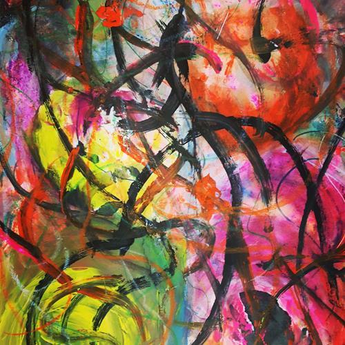 Anita Karolina Martinoli, unlimited, Abstraktes, Abstrakte Kunst