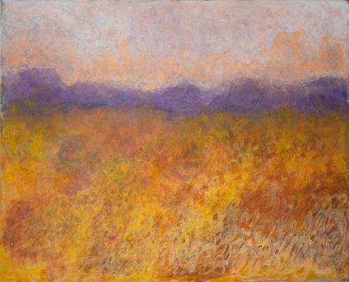 Pia Tauss, Herbststimmung, Landschaft, Gegenwartskunst, Expressionismus
