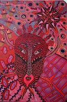 Gwendolyn-Kaase-Fantasie-Diverses-Moderne-Abstrakte-Kunst-Art-Brut