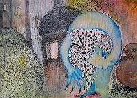 Gwendolyn-Kaase-Poesie-Skurril-Moderne-Abstrakte-Kunst-Art-Brut