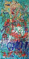 Gwendolyn-Kaase-Tiere-Wasser-Menschen-Frau-Moderne-Abstrakte-Kunst-Art-Brut