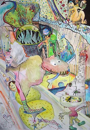 Gwendolyn Kaase, Artisti Acrobatici, Gefühle: Freude, Diverse Zirkus, Art Brut