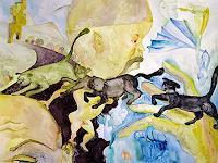 Gwendolyn-Kaase-Menschen-Kinder-Maerchen-Moderne-Abstrakte-Kunst-Art-Brut